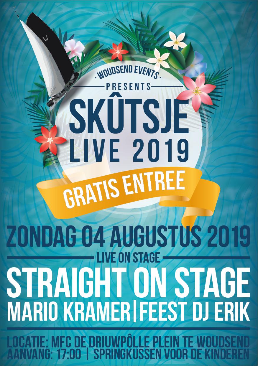 Skûtsje Live zondag 4 augustus